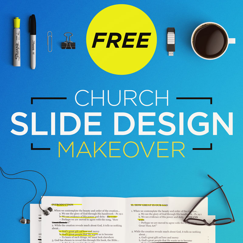 Free Church Slide Design Makeover